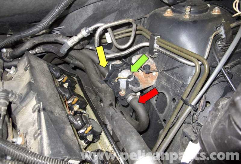 bmw  heater valve testing  replacement