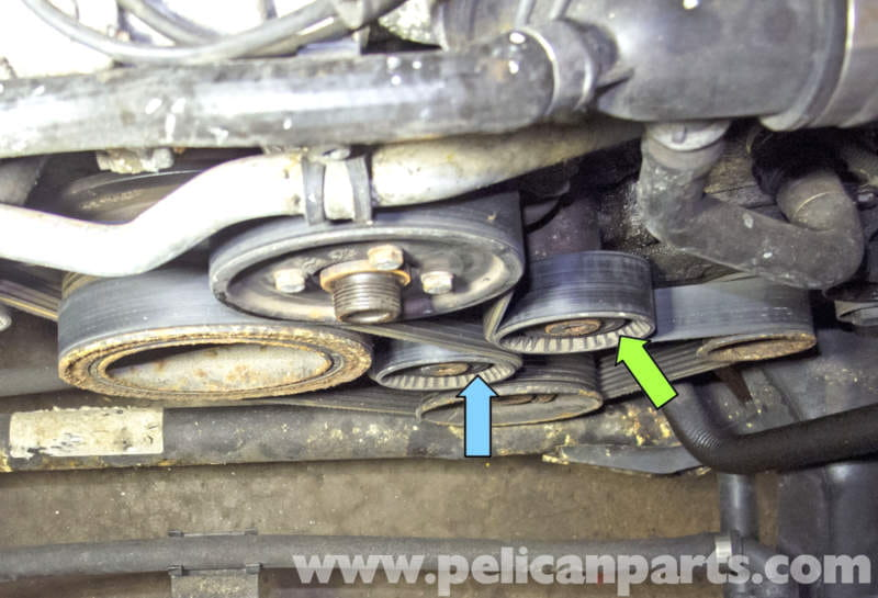 How Much To Replace Alternator >> BMW X5 M62 8-Cylinder Drive Belt Replacement (E53 2000 - 2006) | Pelican Parts DIY Maintenance ...