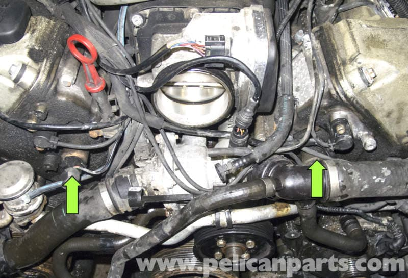 Bmw X5 M62 8 Cylinder Vanos Seal Replacement E53 2000