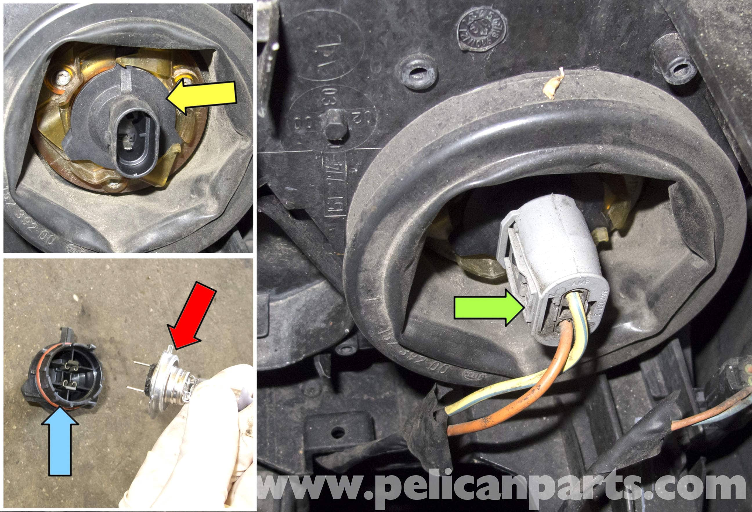 Bmw X5 Headlight Replacement E53 2000 2006 Pelican Parts Diy Emergency Battery Cutoff Alternator Protection Large Image Extra