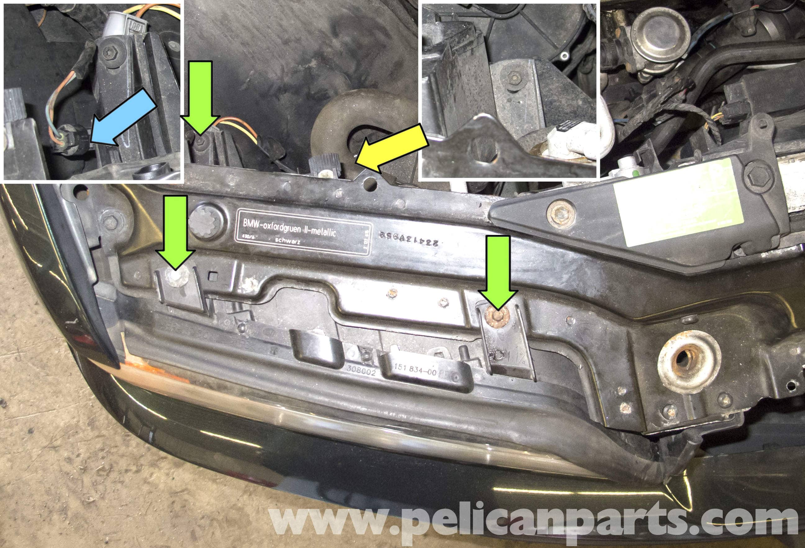 Bmw X5 Headlight Replacement E53 2000 2006 Pelican