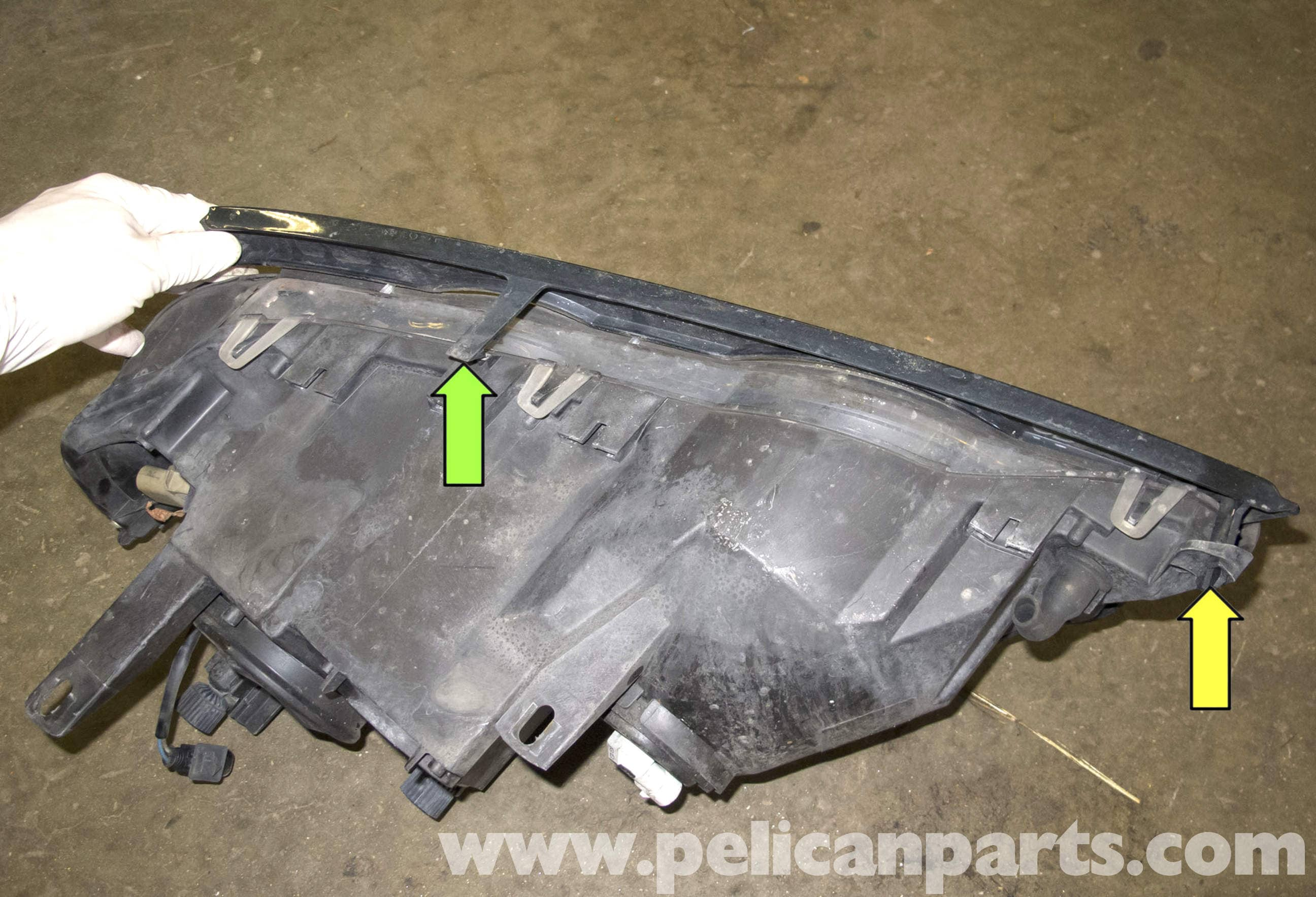 BMW Aftermarket Parts >> BMW X5 Headlight Replacement (E53 2000 - 2006) | Pelican ...