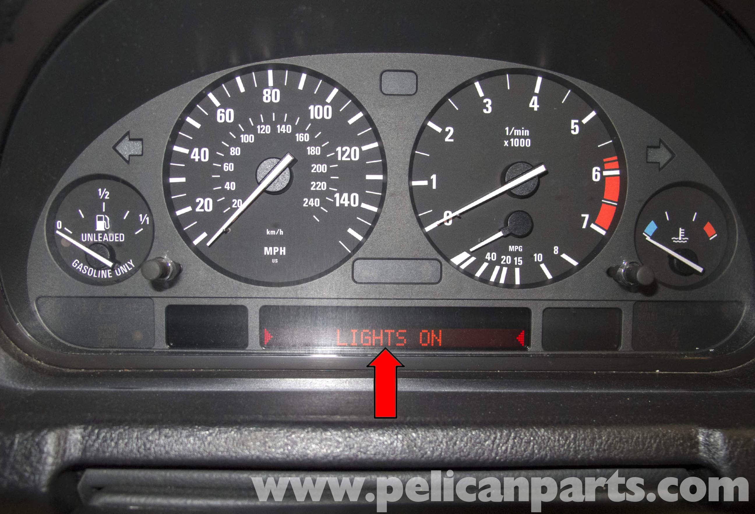 Wiringheadlamp To Dash For 1998 Dodge Stratus