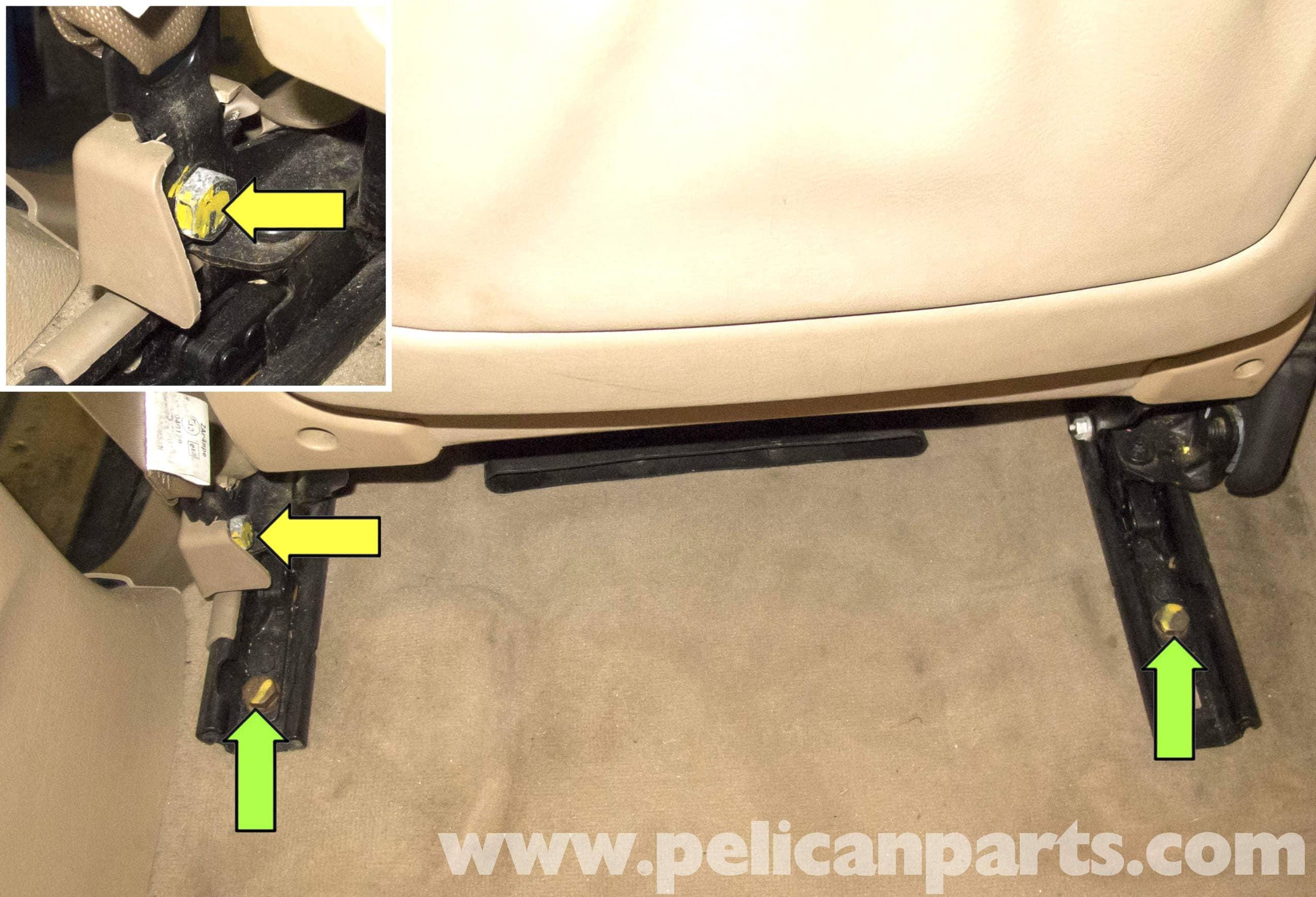Bmw X5 Seat Removal E53 2000 2006 Pelican Parts Diy Maintenance Article