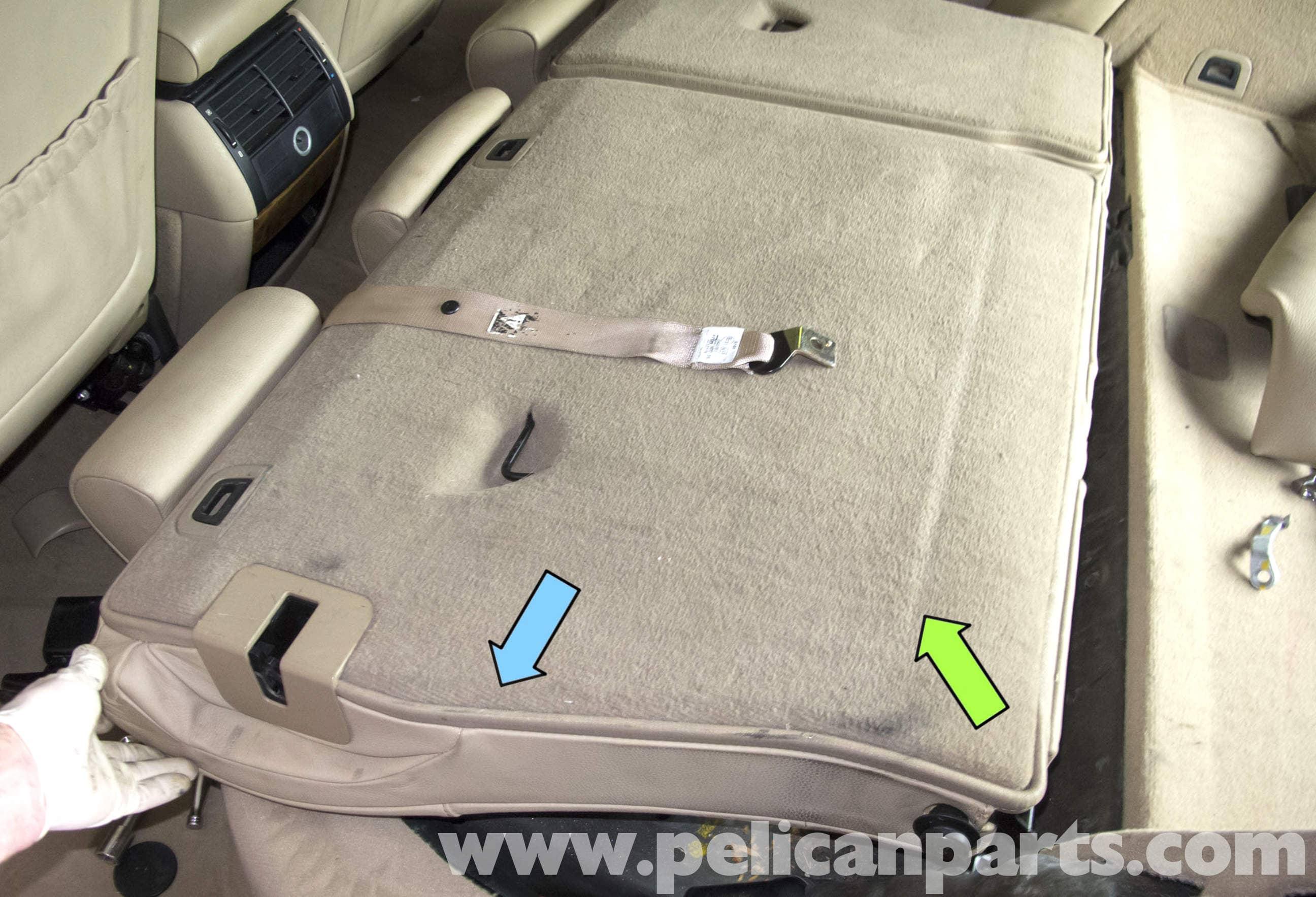 Bmw X5 Seat Removal E53 2000 2006 Pelican Parts Diy