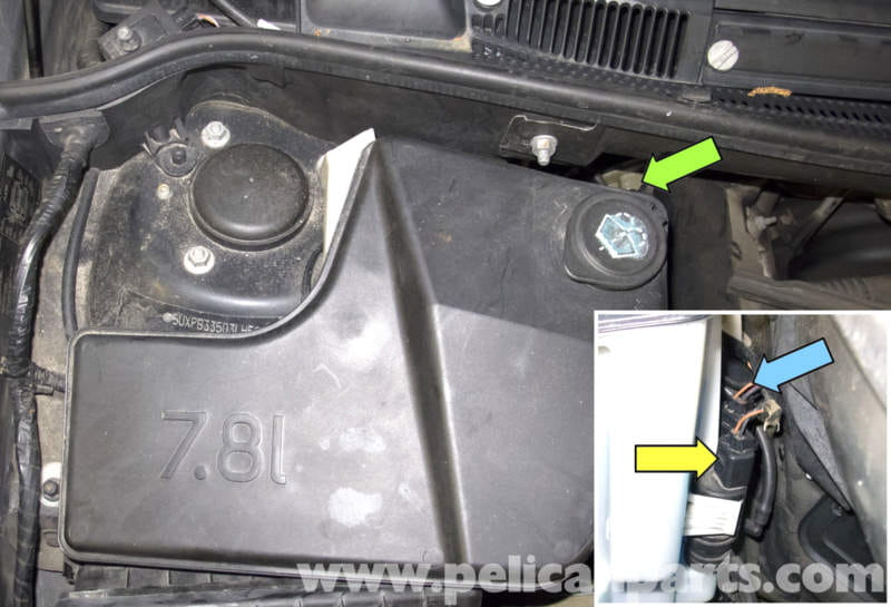 Bmw X5 Washer Pump Testing And Replacement E53 2000
