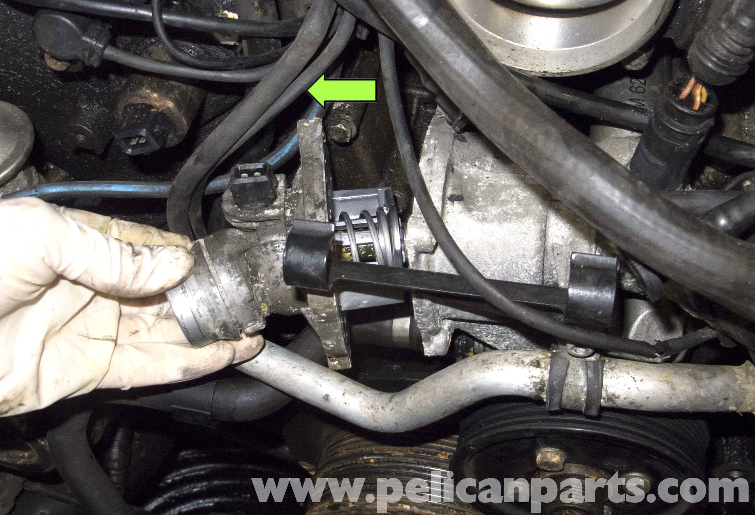 BMW X5 M62 8-Cylinder Thermostat Replacement (E53 2000 - 2006 ... M Thermostat Wiring Diagram on thermostat schematic diagram, refrigerator schematic diagram, baseboard heat diagram, thermostat wire, thermostat housing, thermostat white-rodgers wiringheatpump, thermostat installation, air conditioning diagram, thermostat symbol, thermostat troubleshooting, honeywell thermostat diagram, thermostat cable, thermostat manual, thermostat switch, thermostat clip art, controls for gas valve diagram, wall heater thermostat diagram, thermostat cover, circuit diagram,