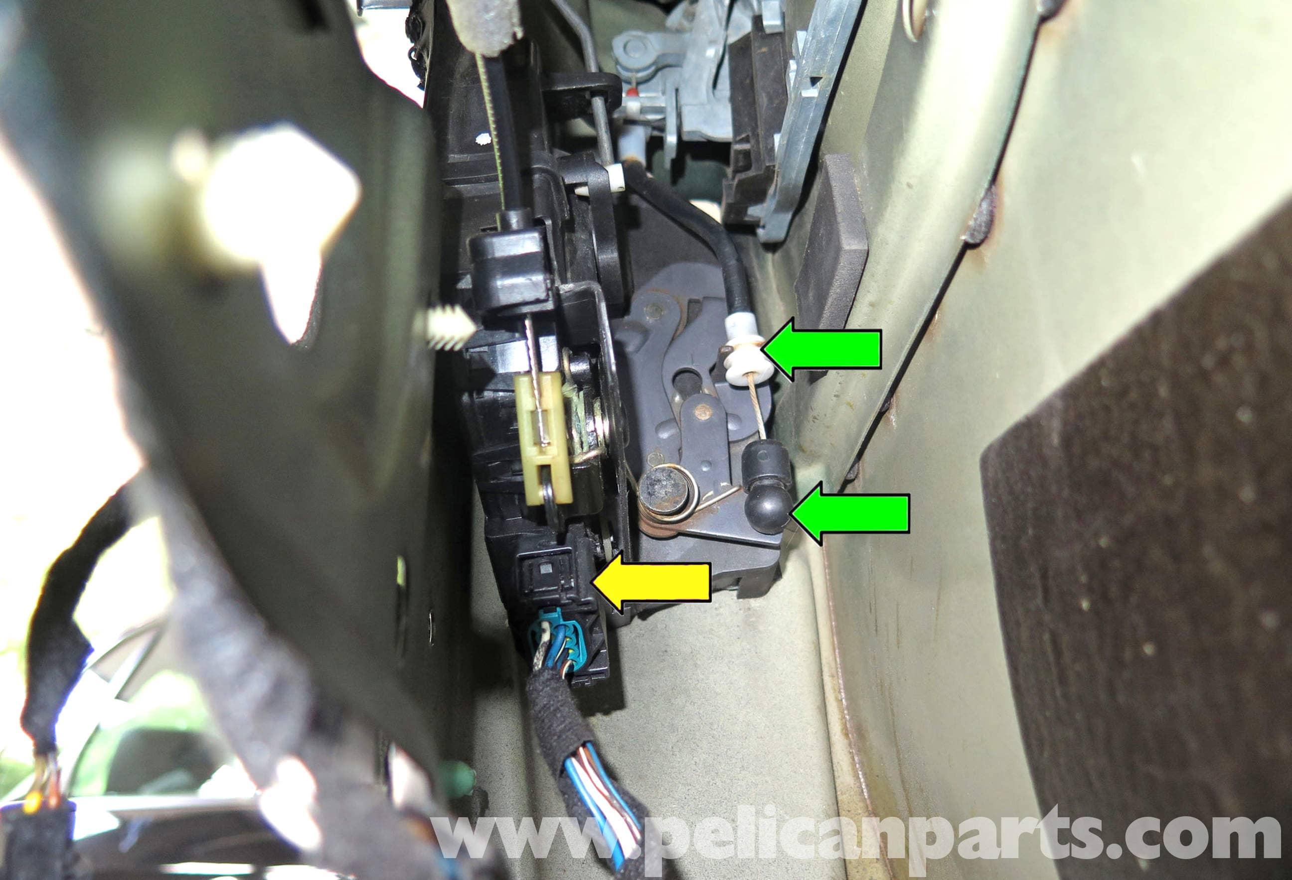Bmw X5 Door Latch Replacement E53 2000 2006 Pelican