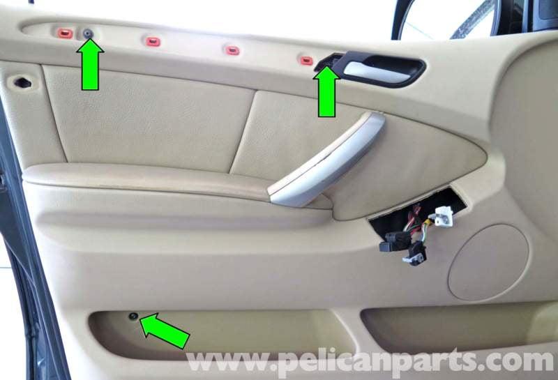 Bmw X5 Door Panel Replacement E53 2000 2006 Pelican Parts Diy Maintenance Article