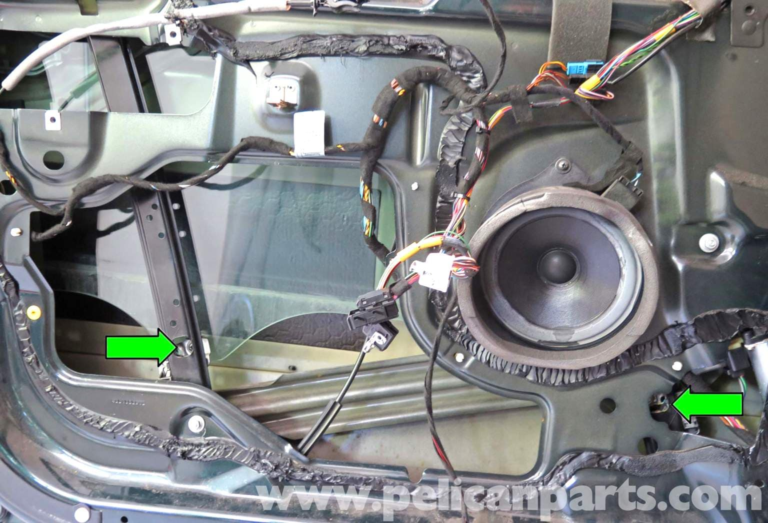 Bmw X5 Front Window Regulator Replacement E53 2000 2006