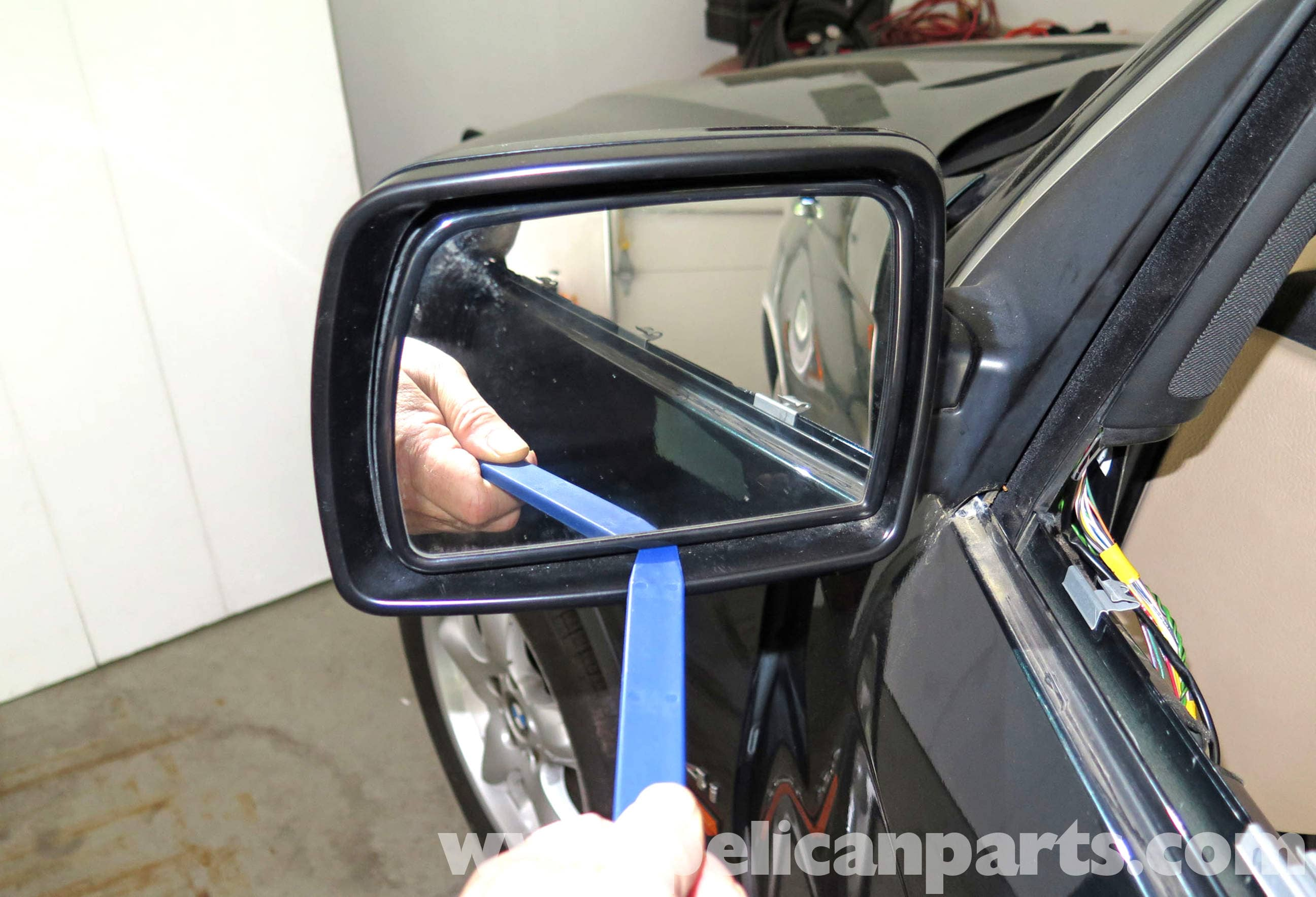 Bmw X5 Exterior Mirror Replacement E53 2000 2006 Pelican Parts
