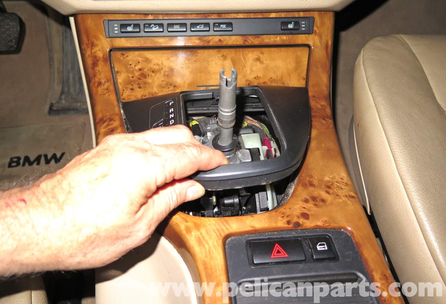 Bmw X5 Center Console Replacement E53 2000 2006 Pelican Parts Diy Maintenance Article