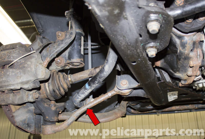 Tractor Repair Arm Level : Bmw front control arm replacement e