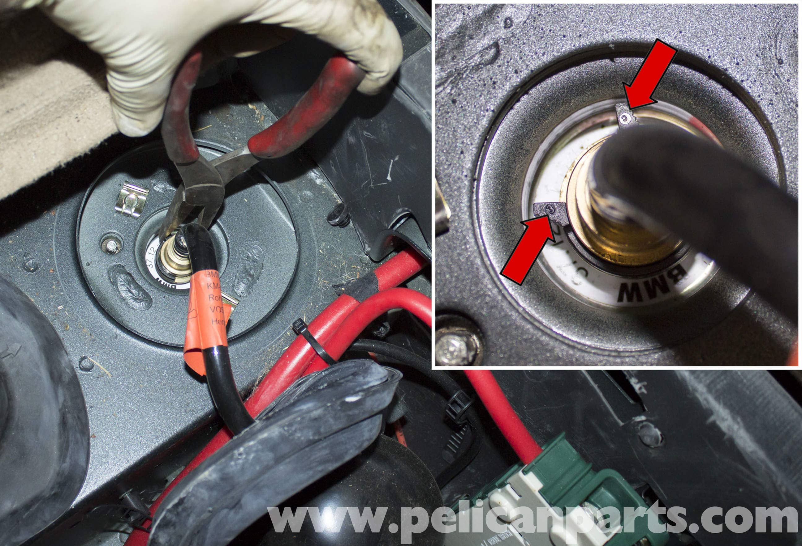 BMW X5 Rear Air Spring Replacement (E53 2000 - 2006