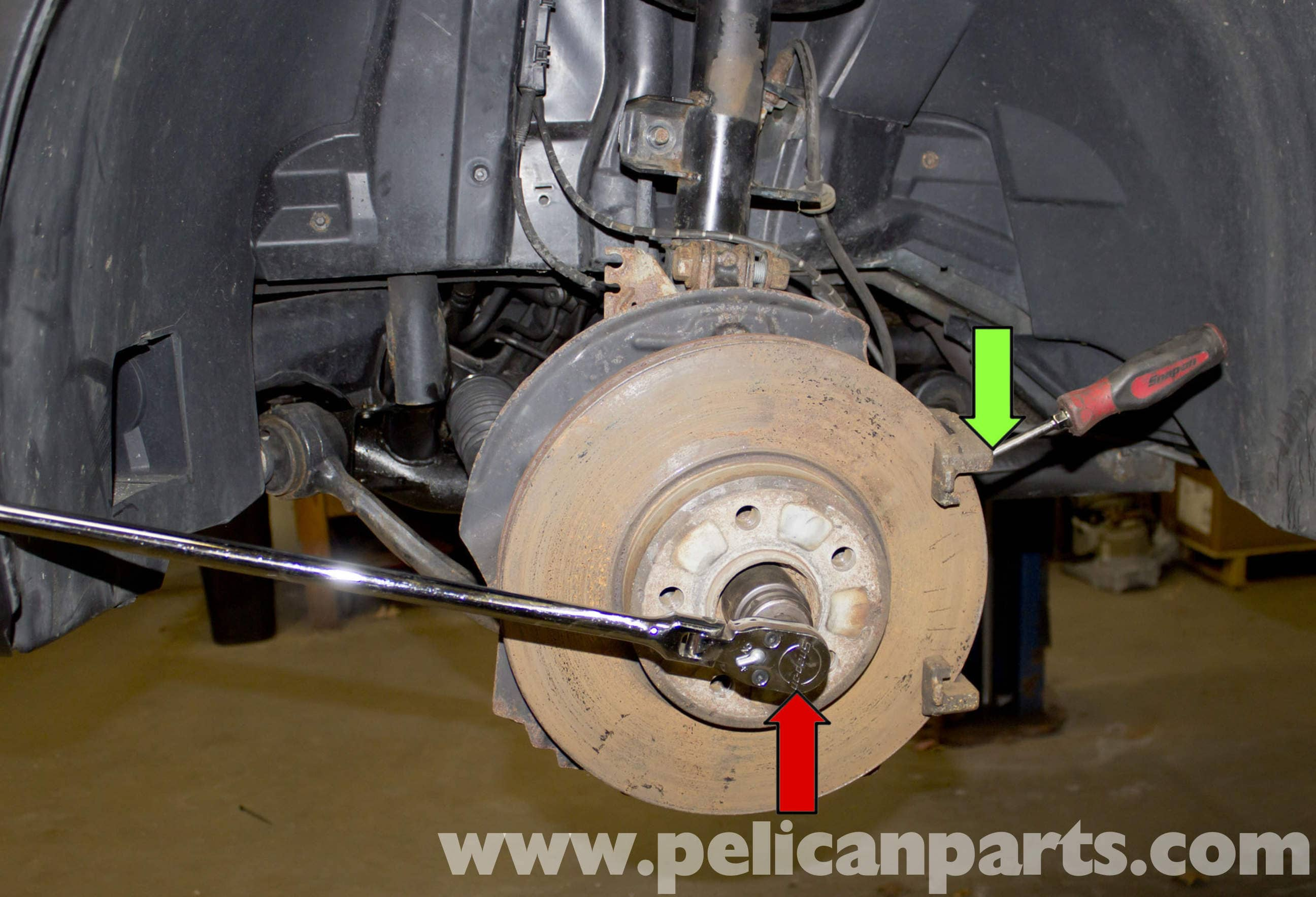 BMW X5 Front Drive Axle and Seal (E53 2000 - 2006) | Pelican