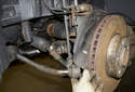 At this point, you can replace just the outer tie rod end.