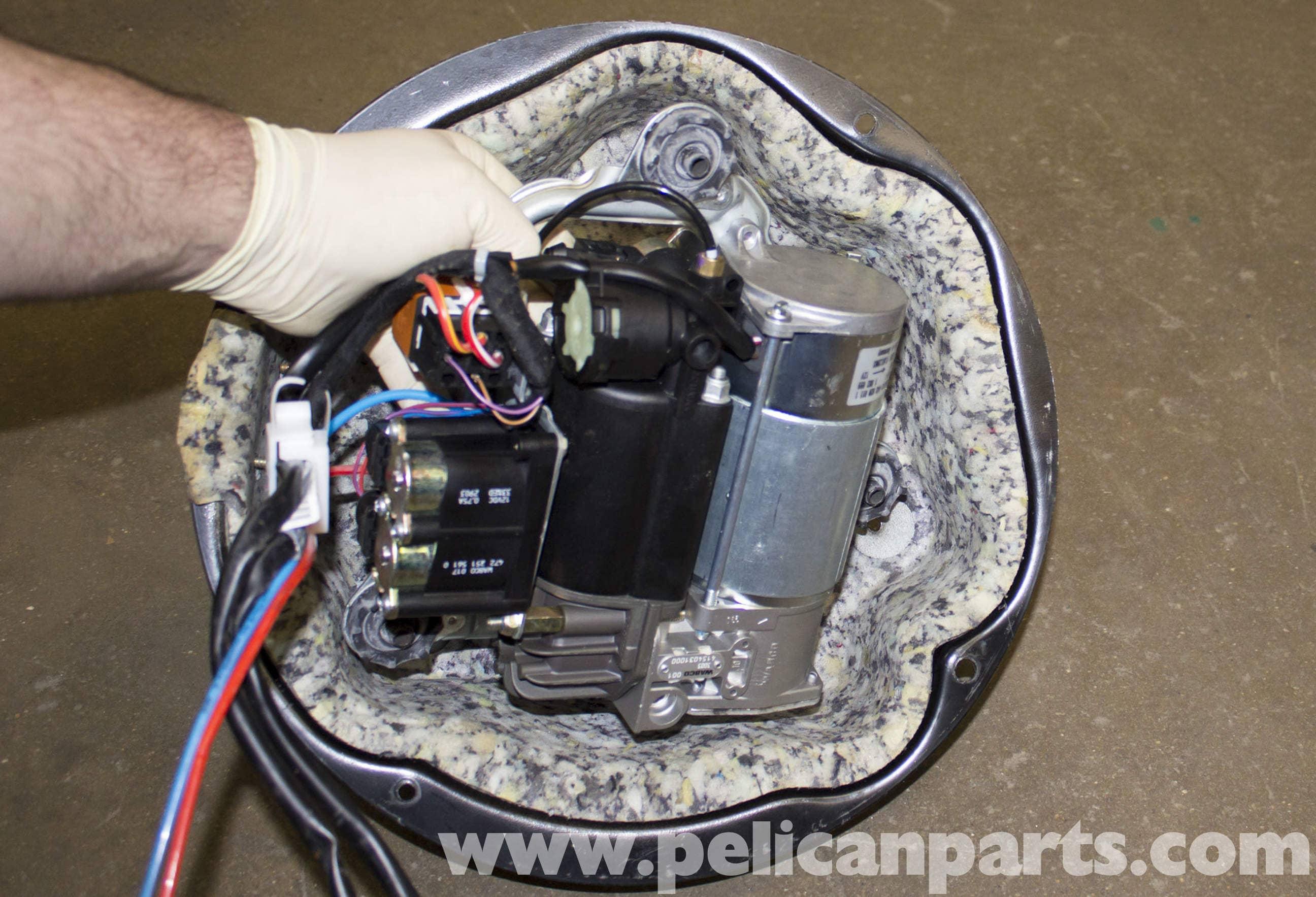 BMW X5 Suspension Air Pump Replacement (E53 2000 - 2006