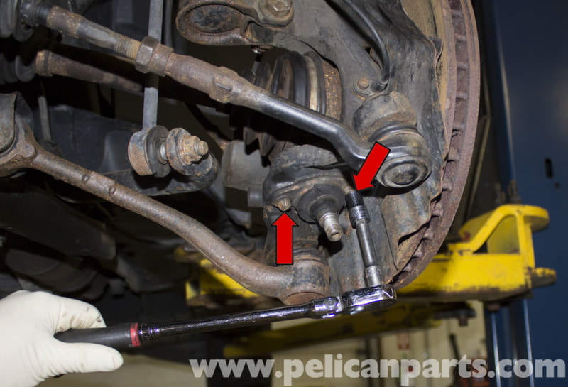 Bmw X5 Front Ball Joint Replacement E53 2000 2006