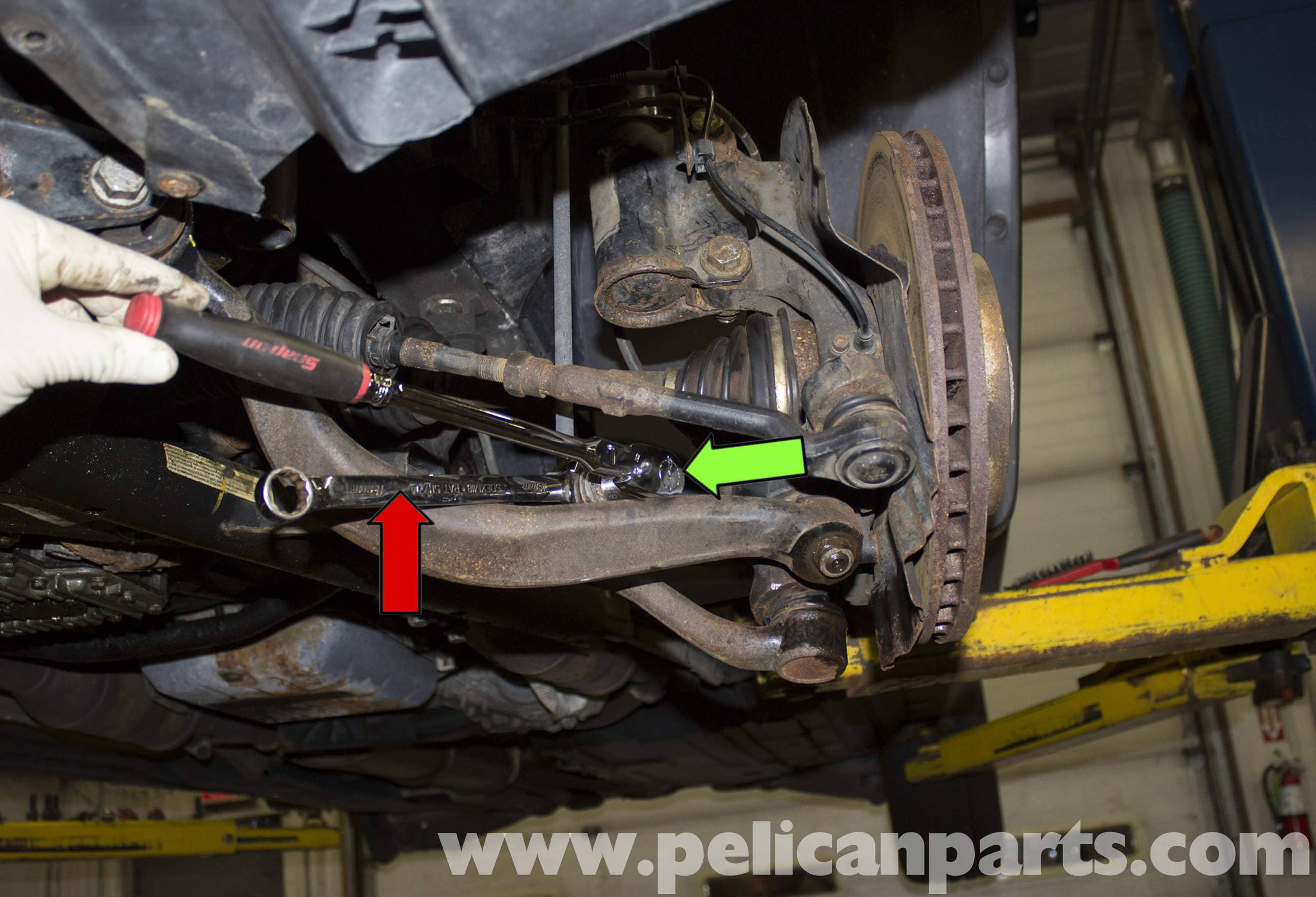 Bmw X5 Front And Rear Sway Bars Replacement E53 2000