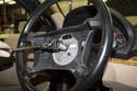 Using a breaker bar or large ratchet with a 16mm socket, remove steering wheel center bolt.