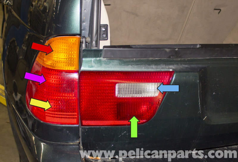 Bmw X5 Tail Light Replacement E53 2000 2006 Pelican