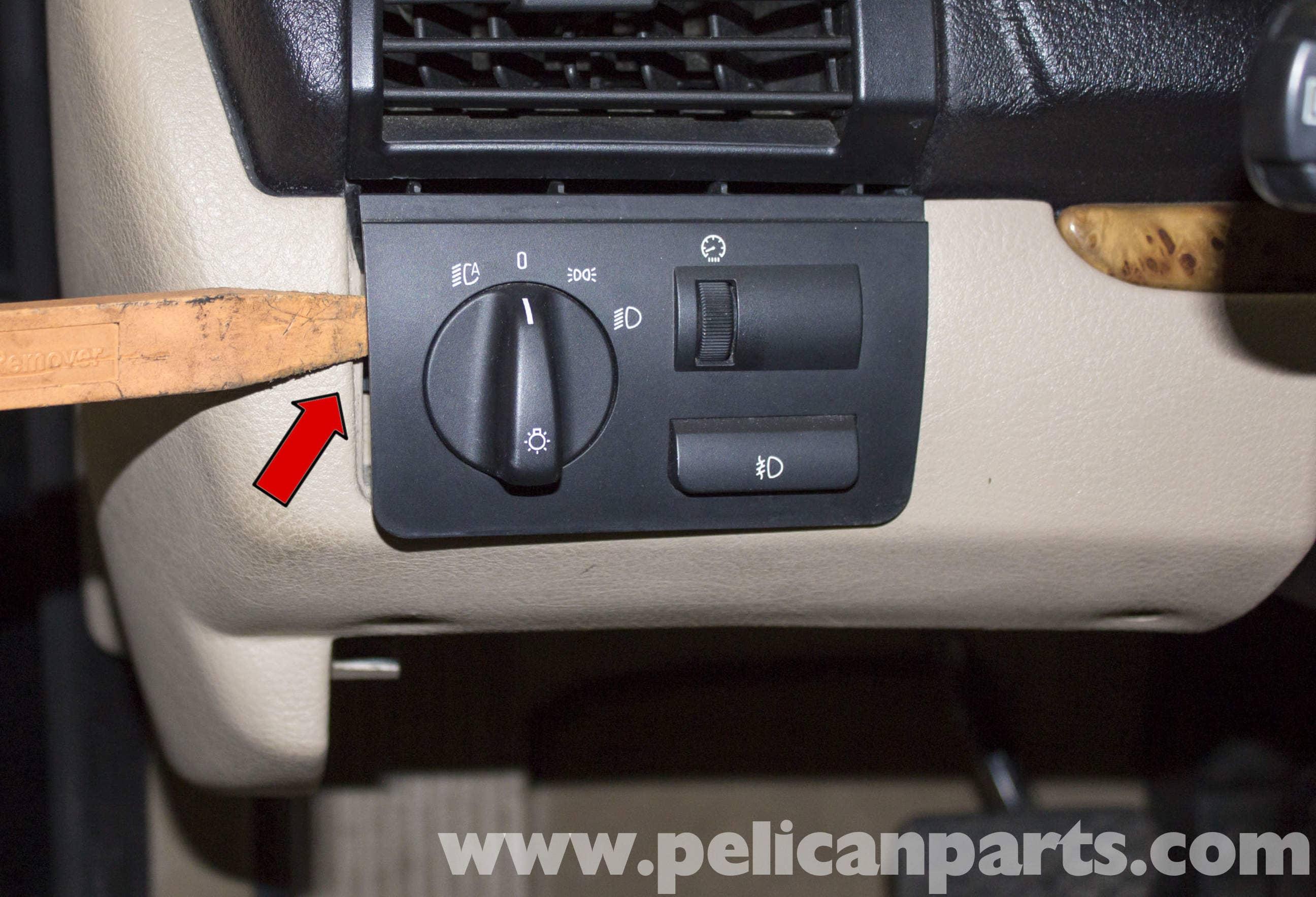 BMW X5 Brake Light Switch Replacement (E53 2000 - 2006