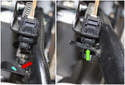 Then, slowly release the brake pedal and let it come in contact with the brake light switch.