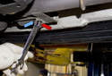 Replacing sensors after catalytic converter: The oxygen sensor is located in the exhaust, behind the catalytic converter.