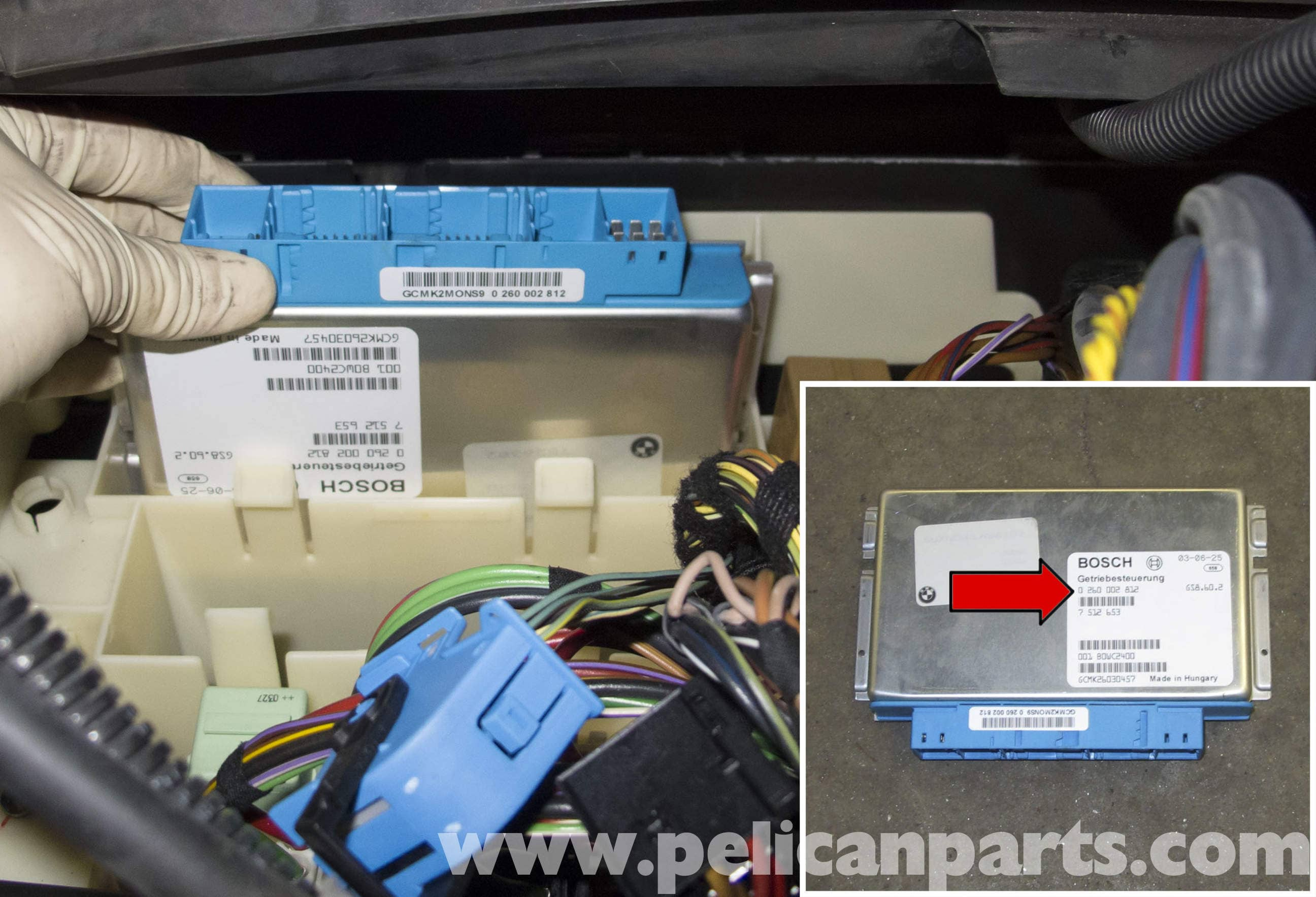 pic13 bmw x5 dme and tcm replacement (e53 2000 2006) pelican parts BMW X5 Fuse Panel Diagram at gsmx.co