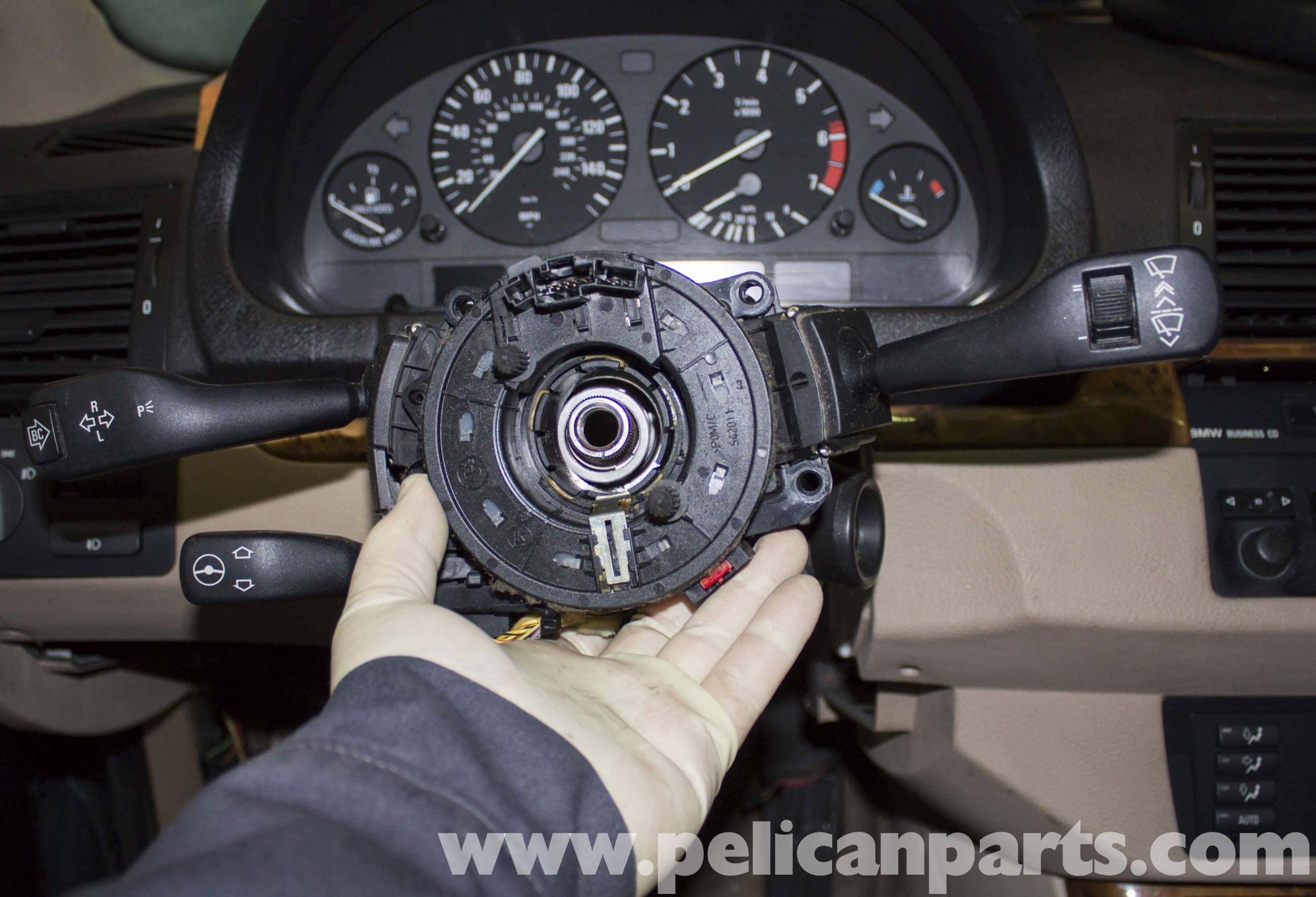 BMW X5 Steering Column Switch and Clock Spring Replacement