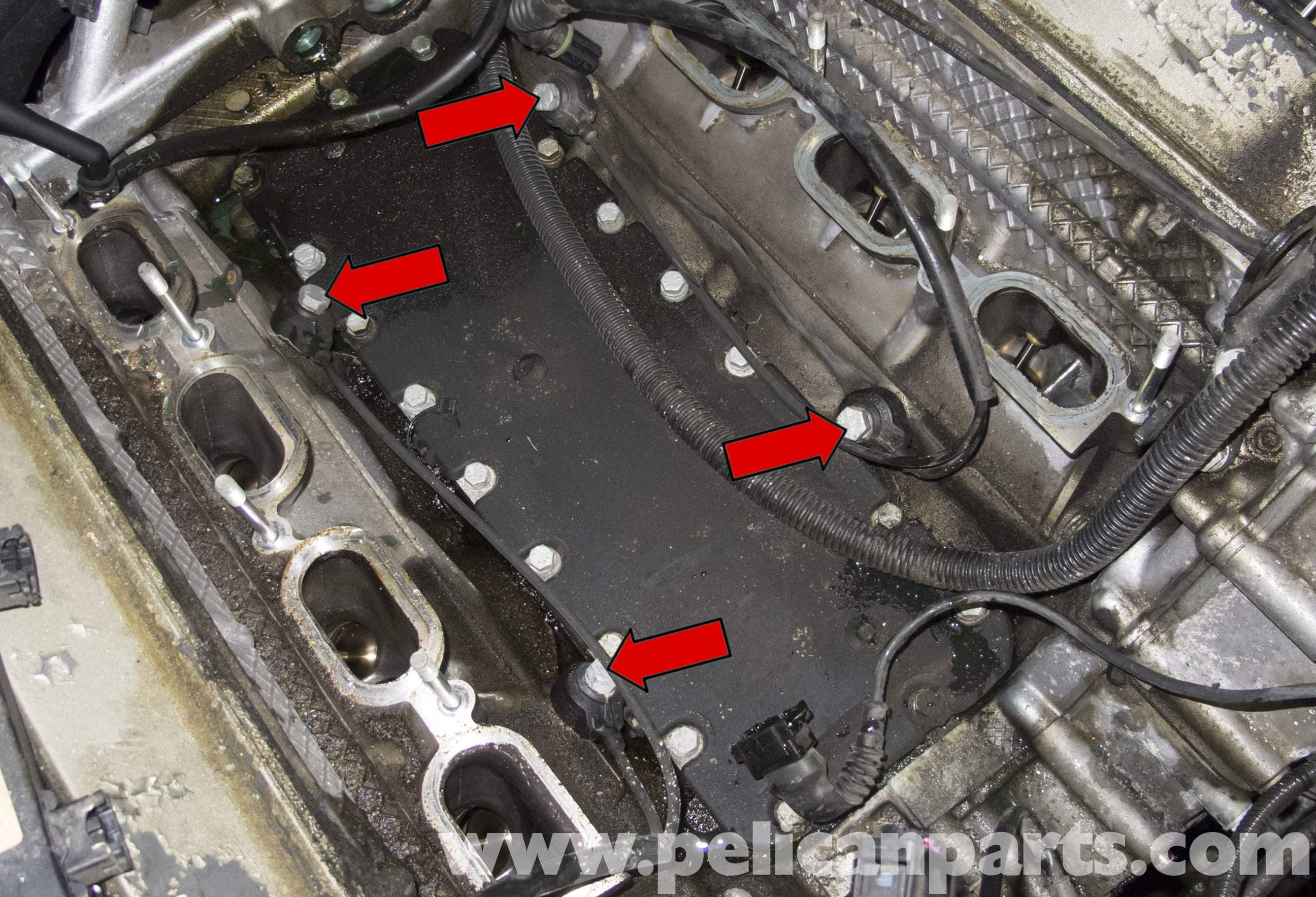 bmw x5 knock sensor replacement e53 2000 2006. Black Bedroom Furniture Sets. Home Design Ideas