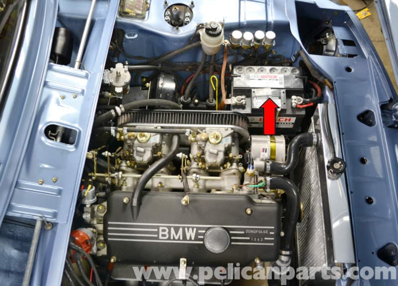 bmw 2002 battery connection notes and replacement 1966. Black Bedroom Furniture Sets. Home Design Ideas