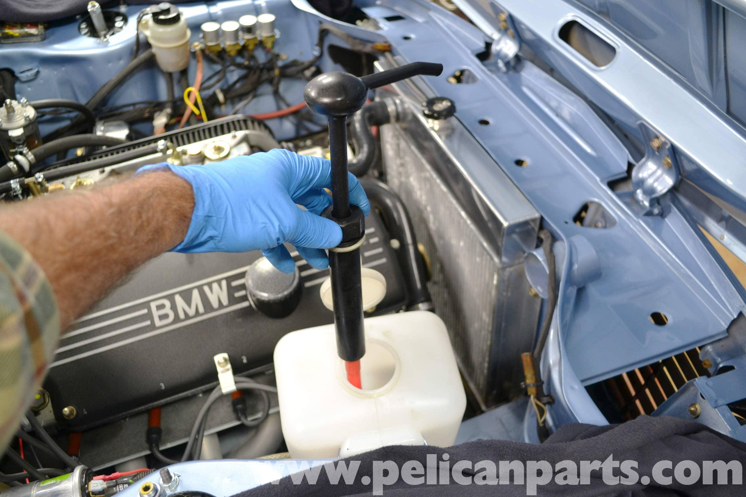 1976 BMW 2002 Parts >> BMW 2002 Windshield Washer Reservoir Replacement (1966 ...