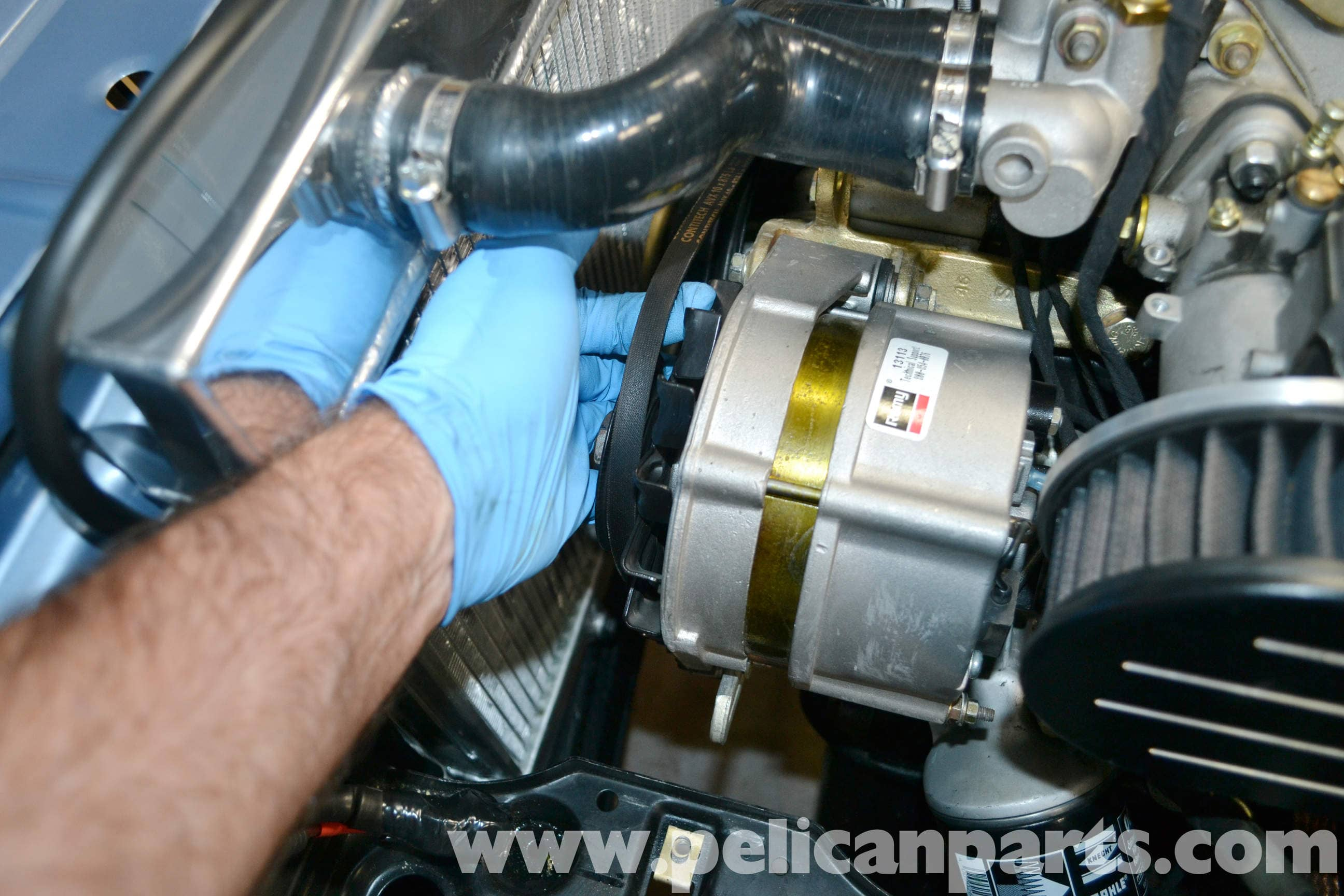 BMW 2002 Alternator Replacement (1966-1976) | Pelican Parts DIY ...