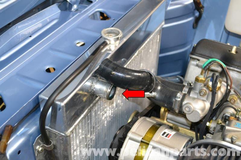 bmw  cooland flush  replacement   pelican parts diy maintenance article
