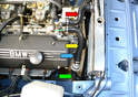 The cooling system is very basic on the 2002.