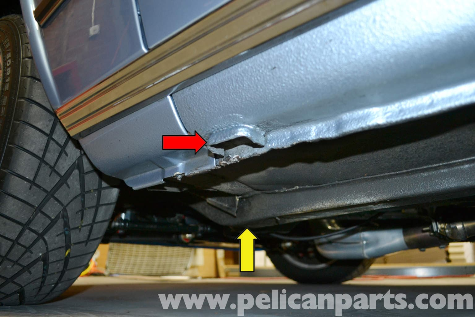 Bmw 2002 Jacking Up Your Vehicle 1966 1976 Pelican Parts Diy Maintenance Article