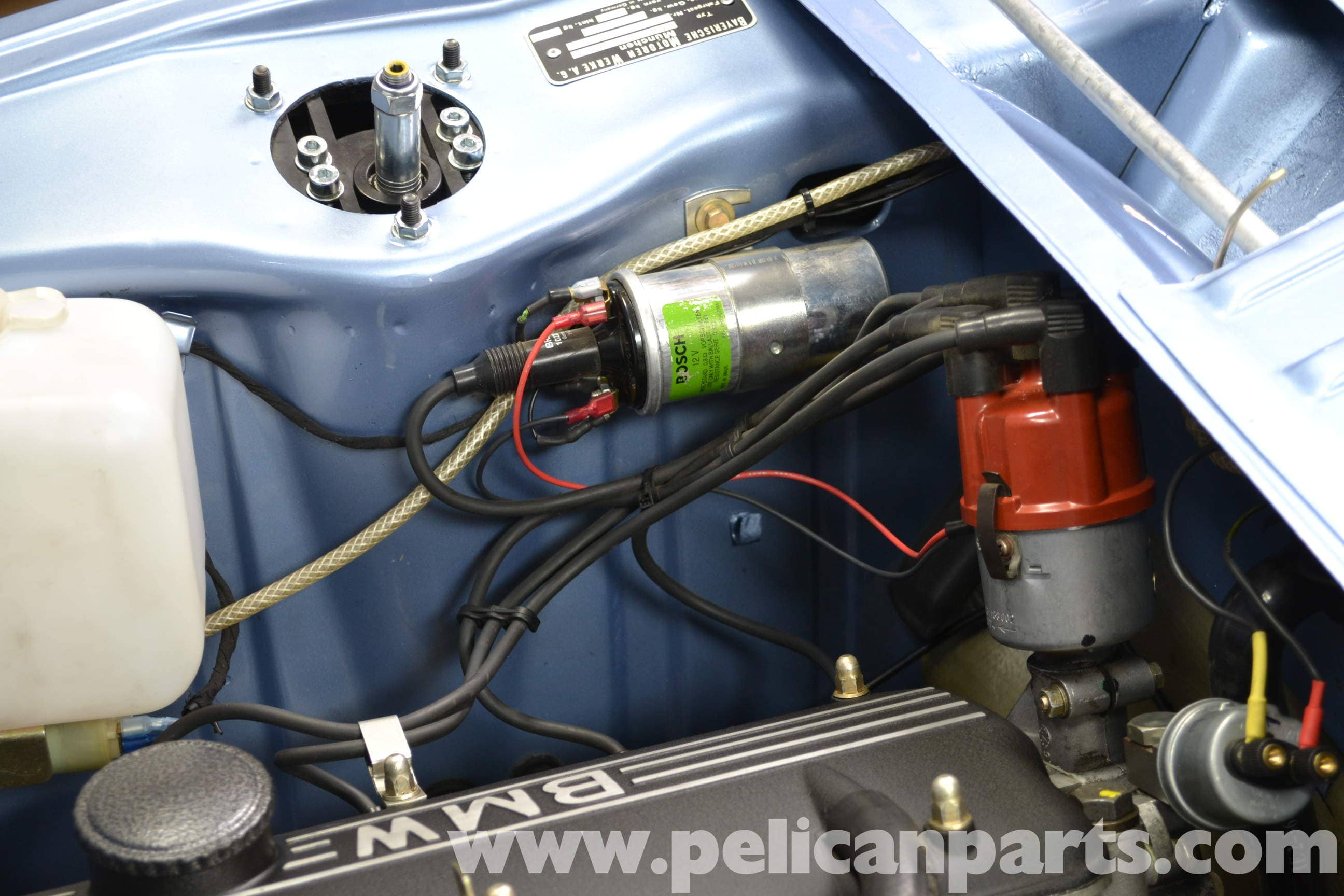 Bmw 2002 Coil Testing And Replacement 1966 1976 Pelican Parts Diy Maintenance Article