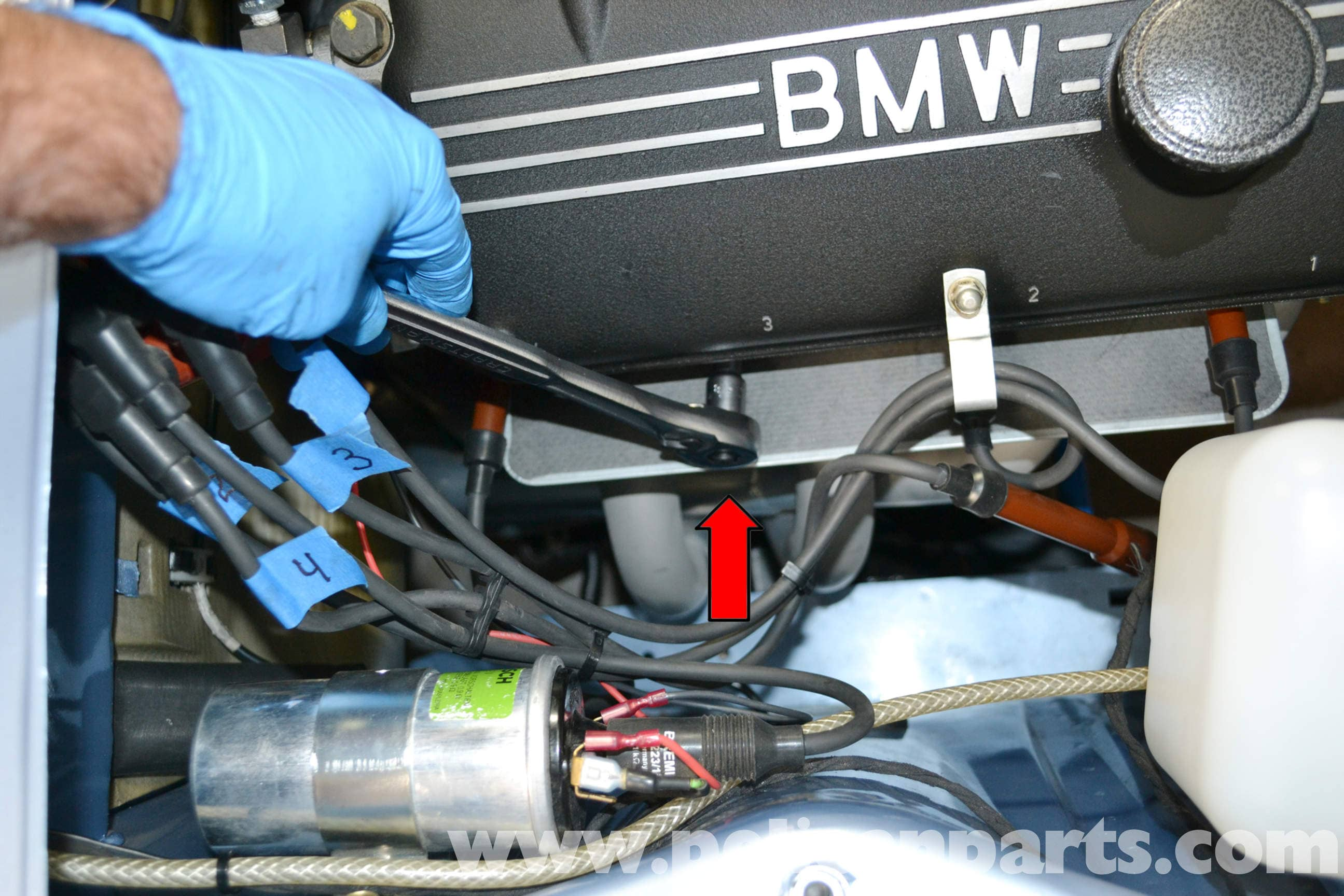 Bmw 2002 Spark Plugs And Wire Replacement 1966 1976 Pelican E30 M10 Wiring Diagram Large Image Extra
