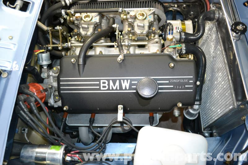 Bmw 2002 Valve Cover Gasket Removal  1966