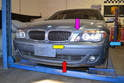 There are several areas of the front bumper cover that you will need to work on to remove it.