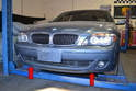 The two fog light and assemblies can be accessed by removing the lower front body tray.