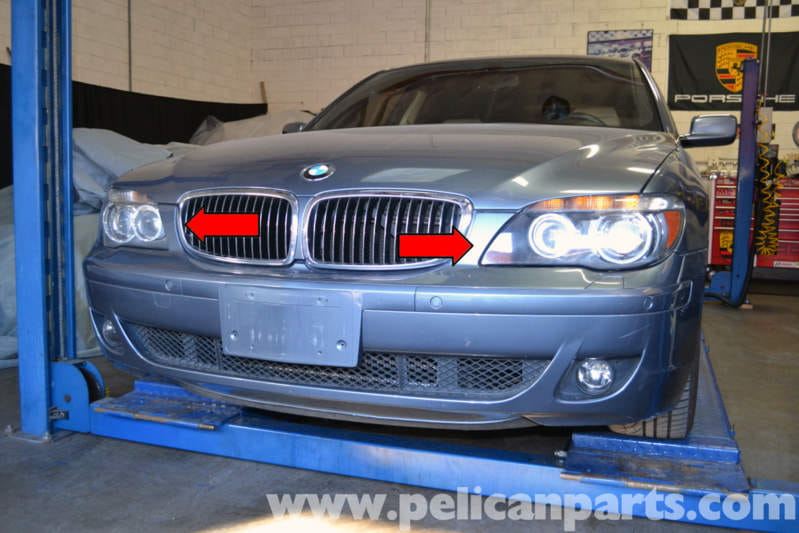 BMW E65 7-Series Adaptive Headlight Module Replacement (2002-2008