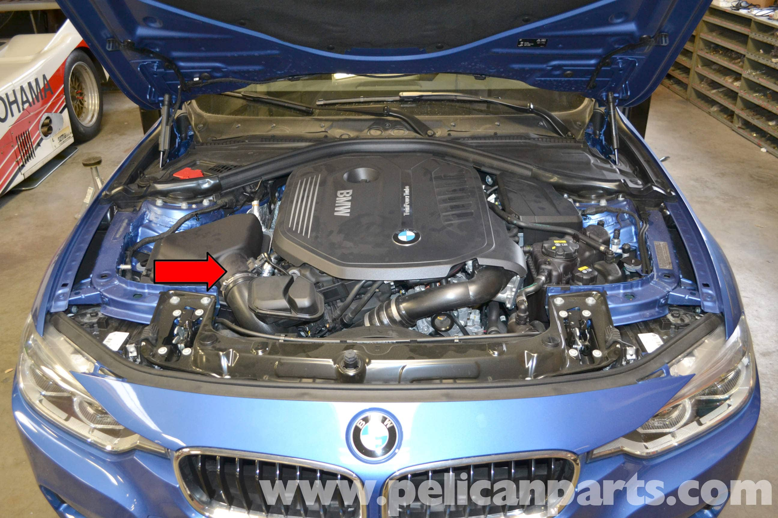 Pelican Technical Article - BMW F30 3-Series - MAF Sensor Replacement