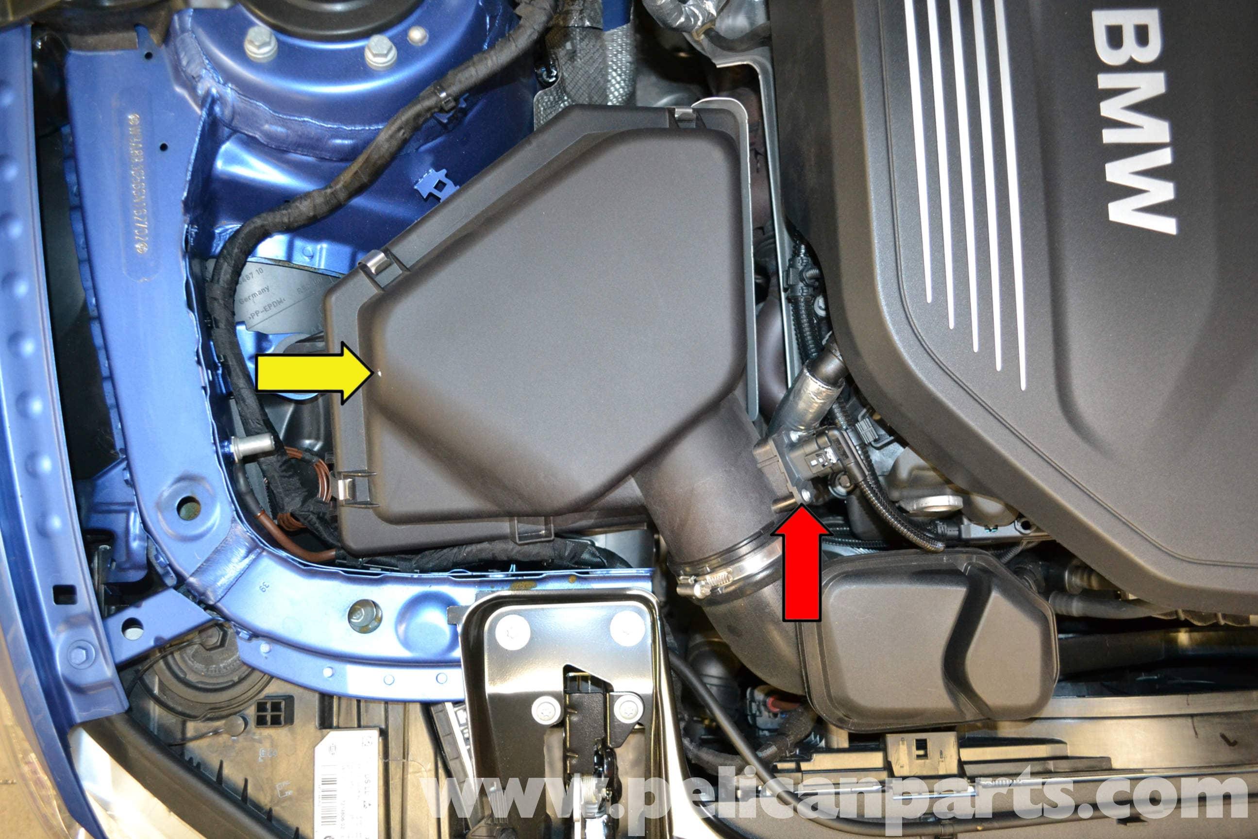 Pelican Parts Technical Article - BMW F30 3-Series - MAF Sensor