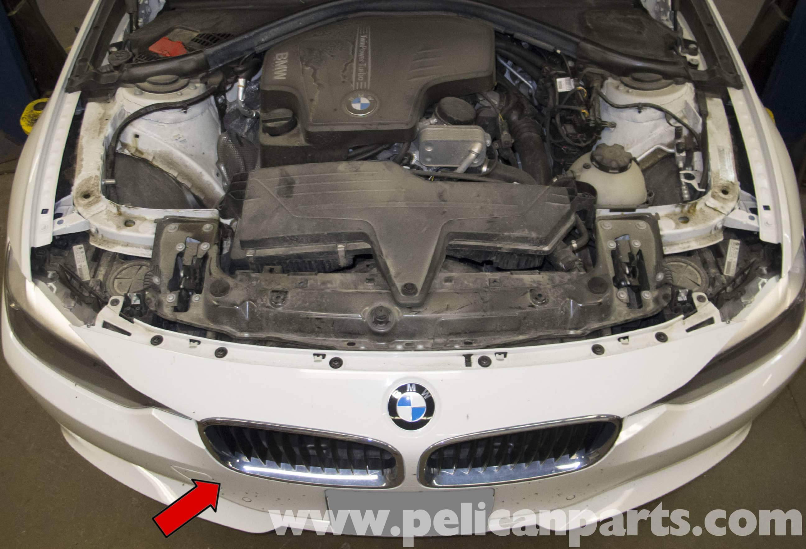 For BMW E36 318i 318ic 318ti 325i 325is 328i 328is M3 Hood Seal Front Genuine