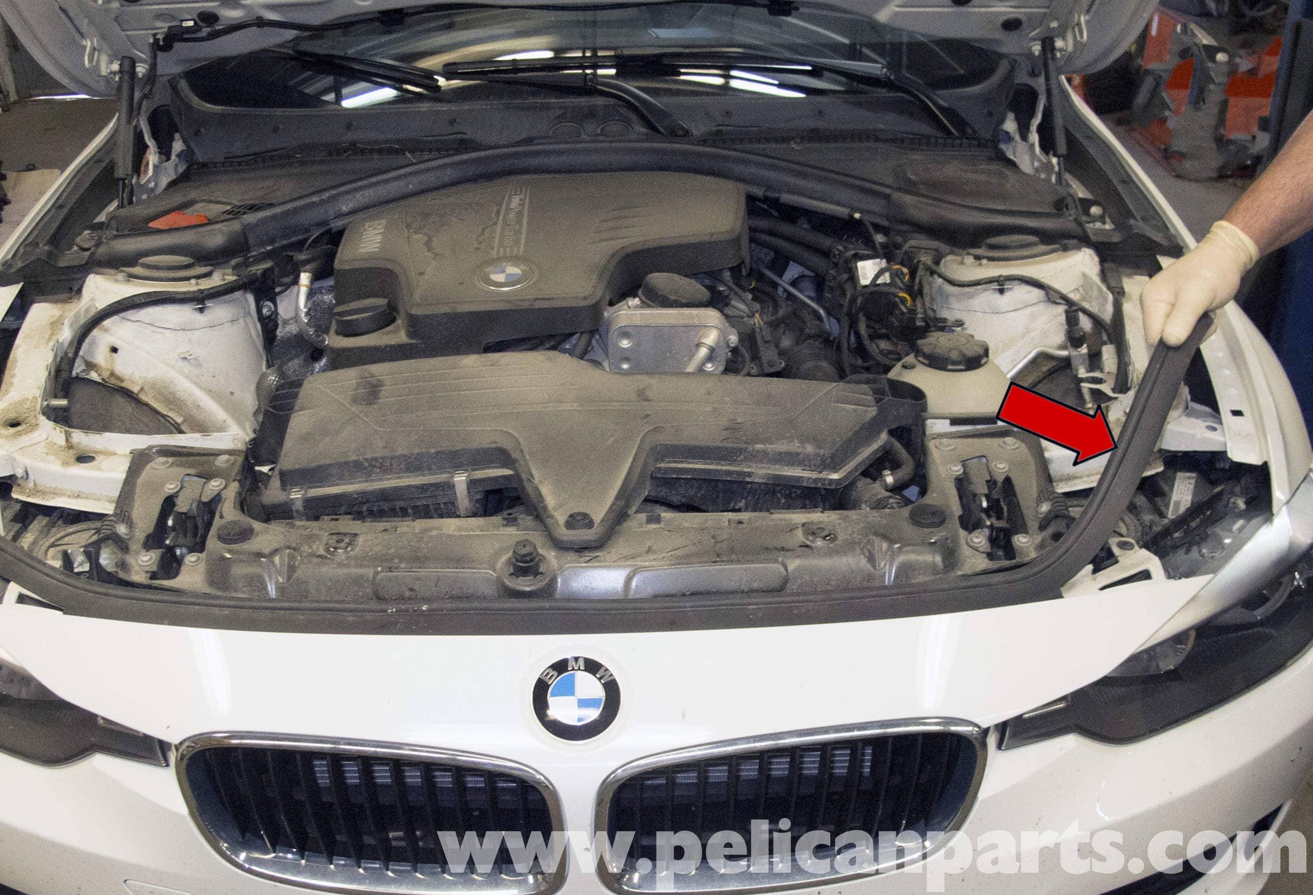 Pelican Parts Technical Article - BMW F30 3-Series - Front Bumper