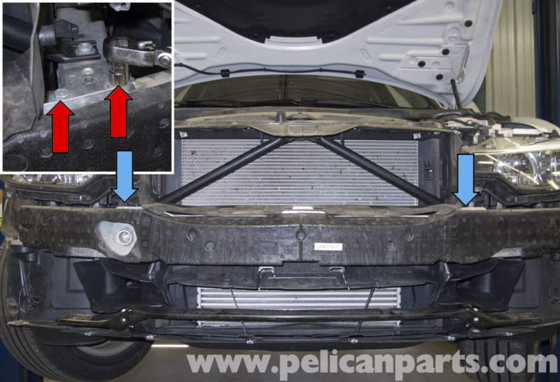 Pelican Parts Technical Article - BMW F30 3-Series - Front Bumper