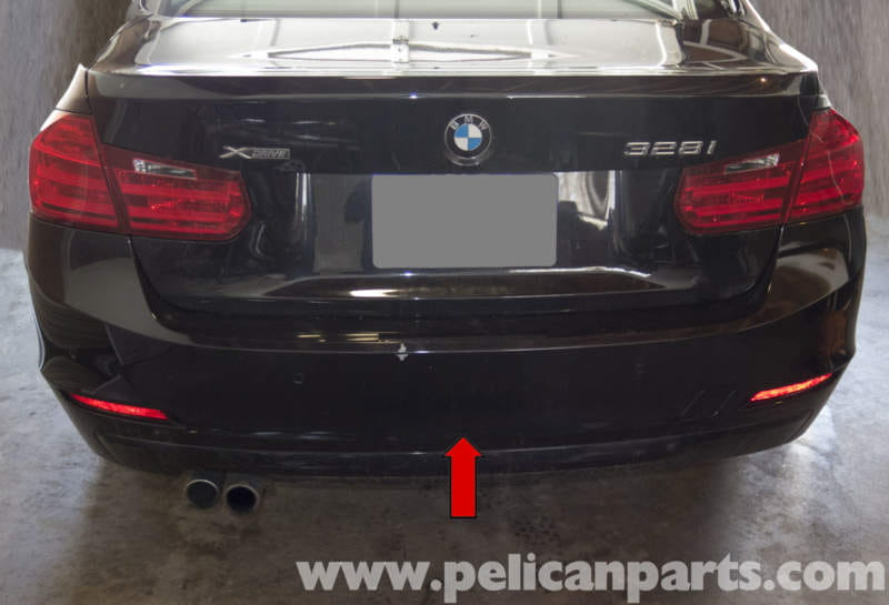 Pelican Parts Technical Article - BMW F30 3-Series - Rear