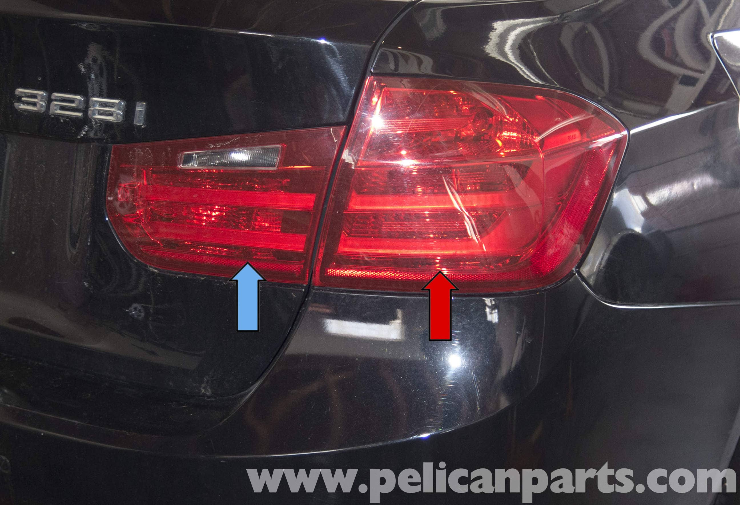Pelican Parts Technical Article - BMW F30 3-Series - Tail Light
